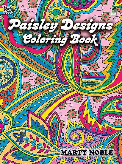 Amazon.com: Dover Publications-Paisley Designs Coloring Book: Toys & Games