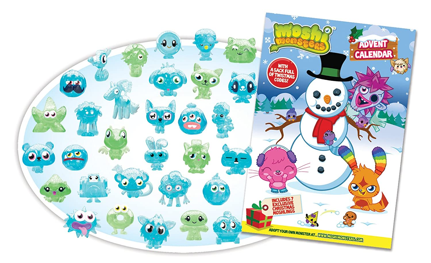 Moshi Moshi Monsters Calendario de Adviento Vivid Imaginations 78110