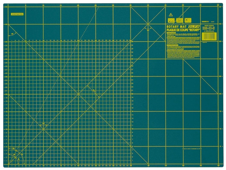 Base di taglio Tappetino taglierina Prym OLFA 60X45cm tessuti stoffa carta Rotary cutter