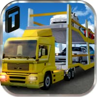 Car Transport Trailer 3D