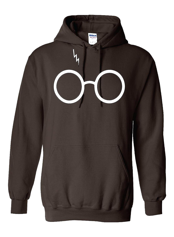 Outlook Designs Glasses and Lightning Unisex Hoodie GLASSESHOODIE2