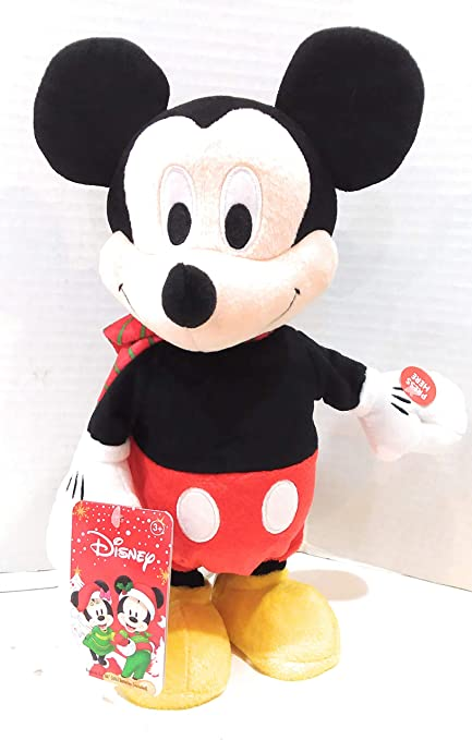 JP Animated Plush Mickey Mouse Dances to Christmas Song