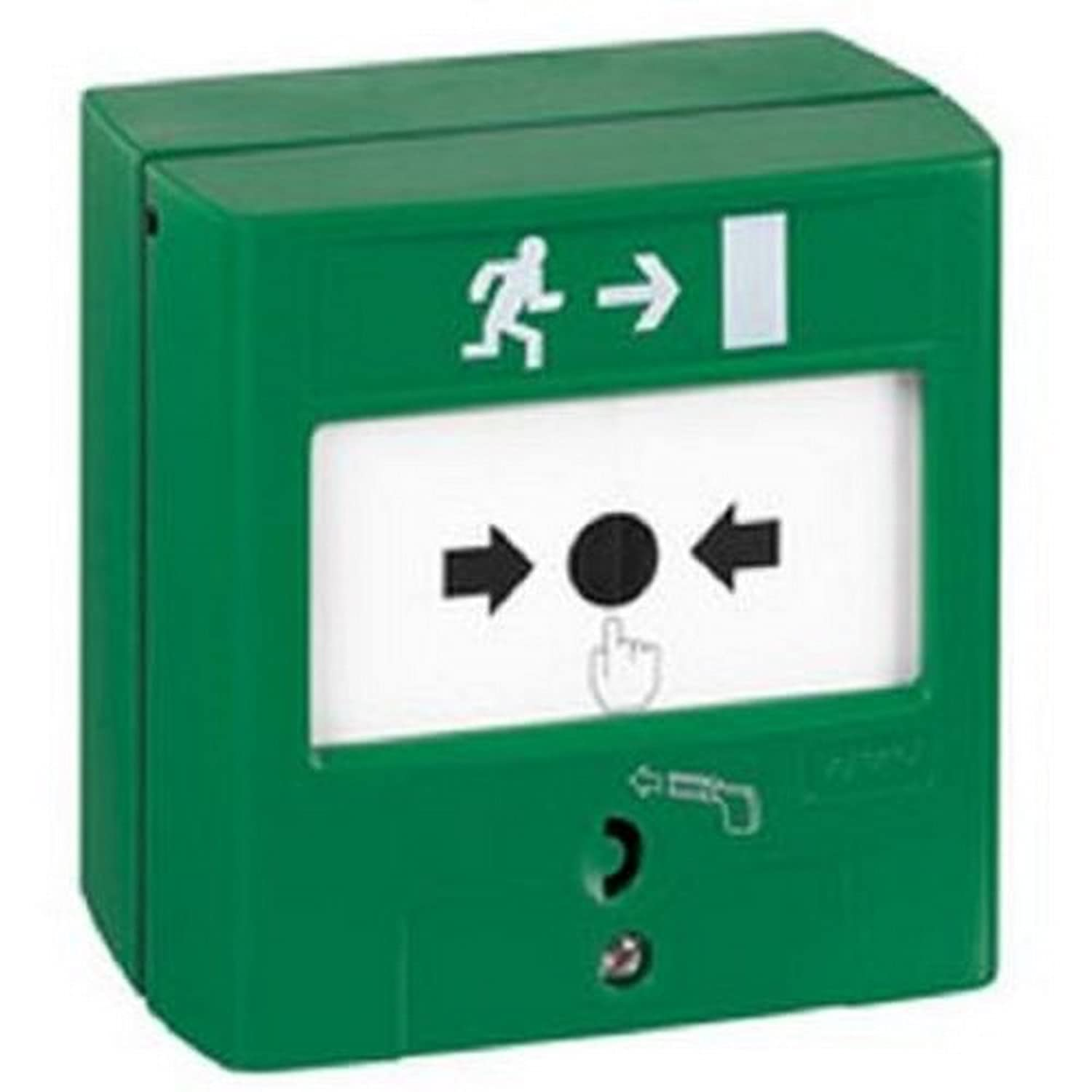 dispositif de commande pour issue de secours - 1 contact - legrand 138023