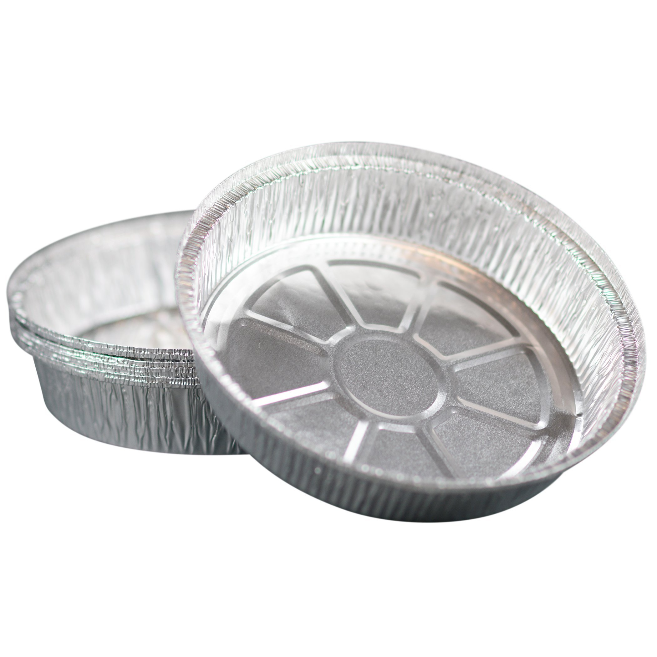 Simply Deliver 9-Inch Round Disposable Take-Out Pan, 30 Gauge Aluminum, 500-Count by Simply Deliver (Image #2)