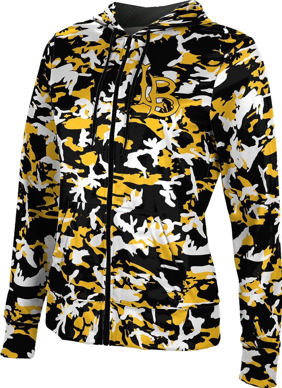 School Spirit Sweatshirt Camo ProSphere California State University Long Beach Girls Zipper Hoodie