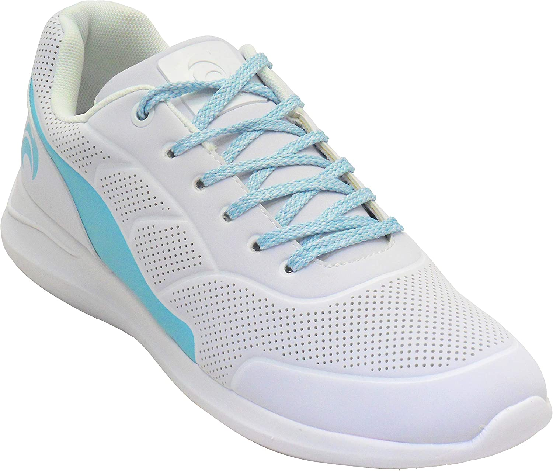 Henselite Ladies HL74 Lightweight Impact X Lawn Bowls Shoes Turquoise