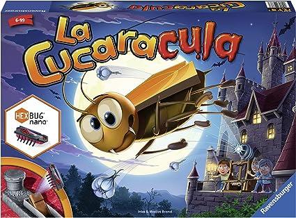 Ravensburger 22336 La Cucaracula, Juego de Mesa, 2-4 Jugadores, Edad 6+, Version en Español: Amazon.es: Juguetes y juegos