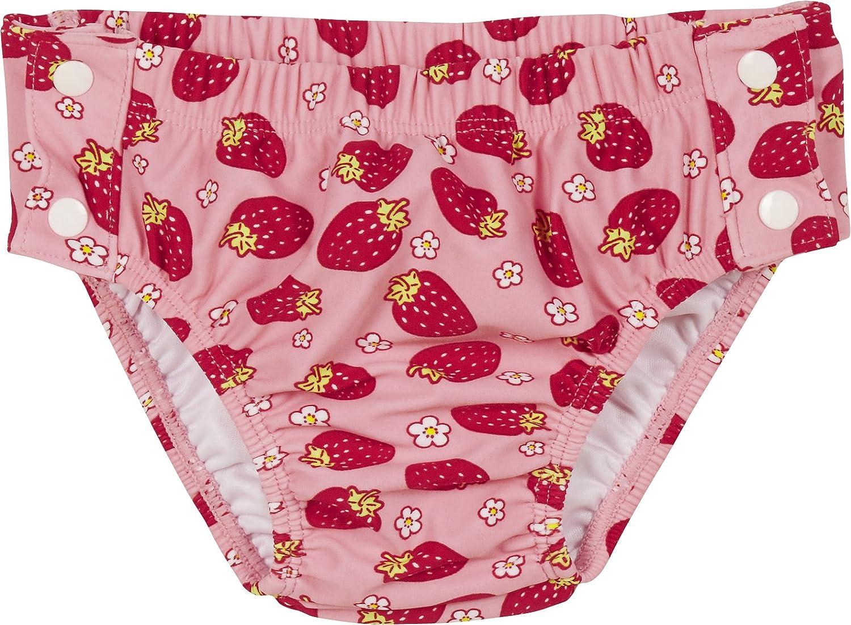 Playshoes UV-Schutz Windelhose Erdbeeren zum Knöpfen, Costume-Pannolino Bimba 460297