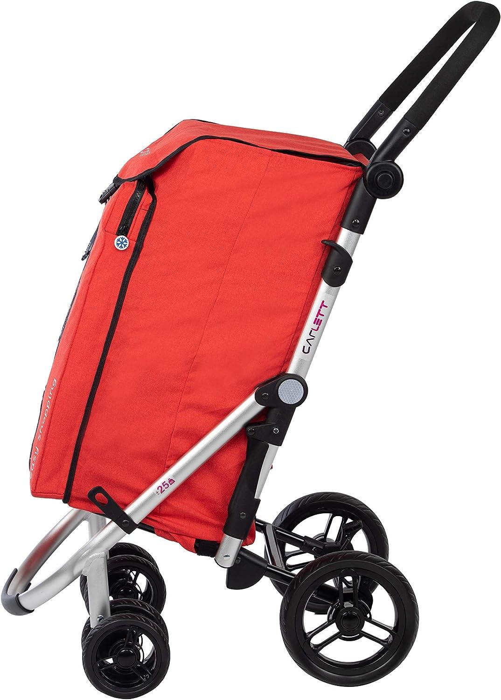 One Size Mauve Carlett Shopping Trolley