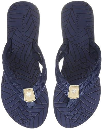Marc OPolo Beach Sandal 80314491001604, Chanclas para Mujer, Azul ...