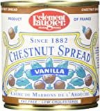 Clement Faugier Gourmet Chestnut spread with vanilla from France 8.8oz