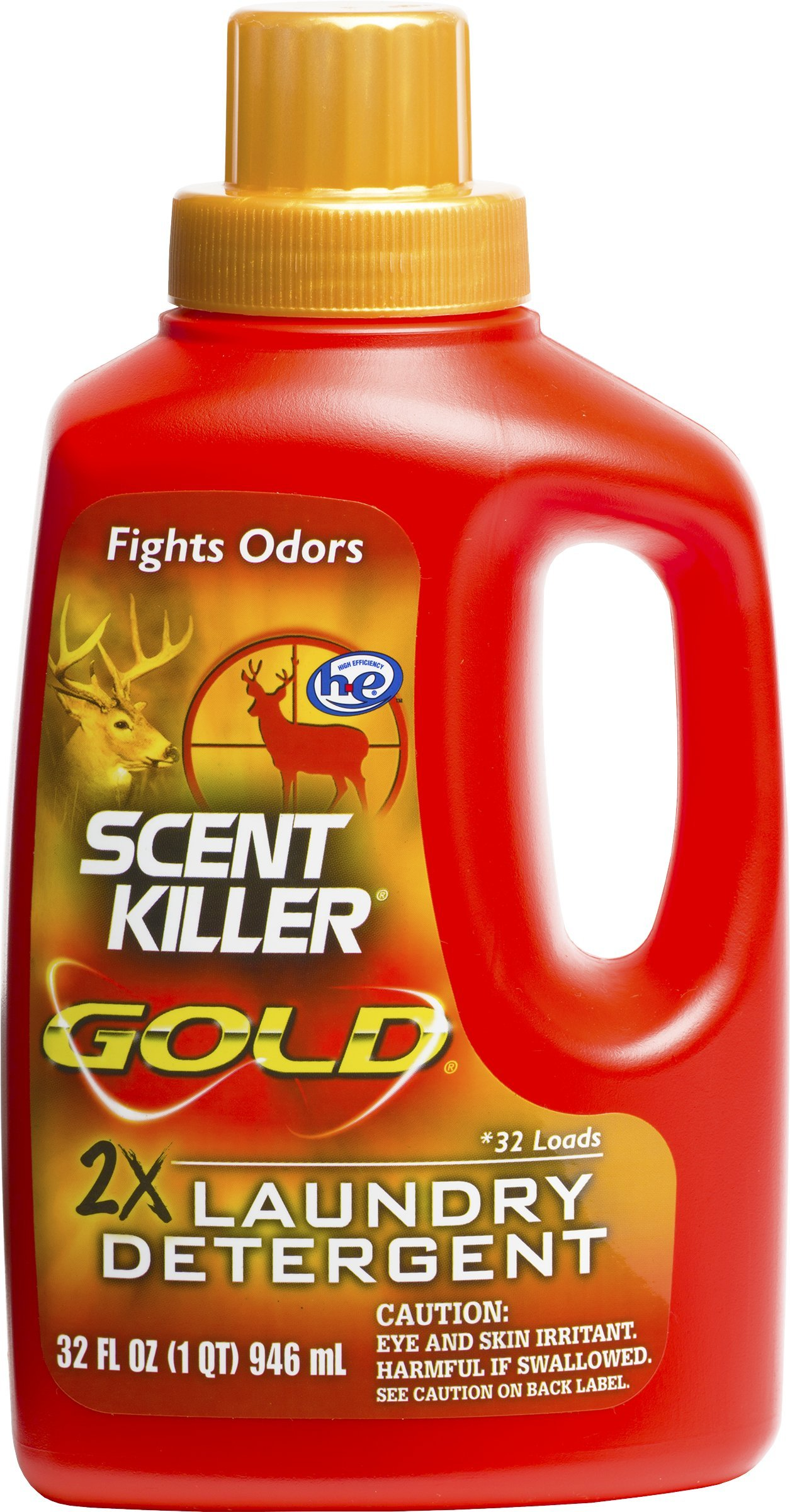 Wildlife Research 1249 Gold Clothing Wash Scent Killer 32 OZ by Wildlife Research (Image #1)