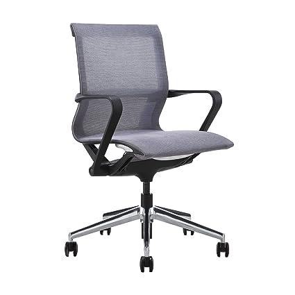 Amazon com: Empire Mesh Management Chair (Grey): Kitchen & Dining