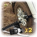 EZUNSTUCK Car Tire Anti-Skid Tool - RWD/AWD/4x4 SUV, Trucks, Pickup – EZ-D02LX Get Unstuck Solution for Mud, Sand, Snow…