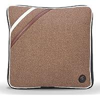 L'oreiller sans fil de massage électrique d'oreiller de massage soulagent la douleur de cou et d'épaule de dos pour le bureau à la maison et la voiture, USB chargeant la norme FDA(Lin Brun)
