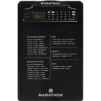 Marathon st083016bk portapapeles cronómetro con calculadora, reloj & timer-latest Edition con Tighter agarre