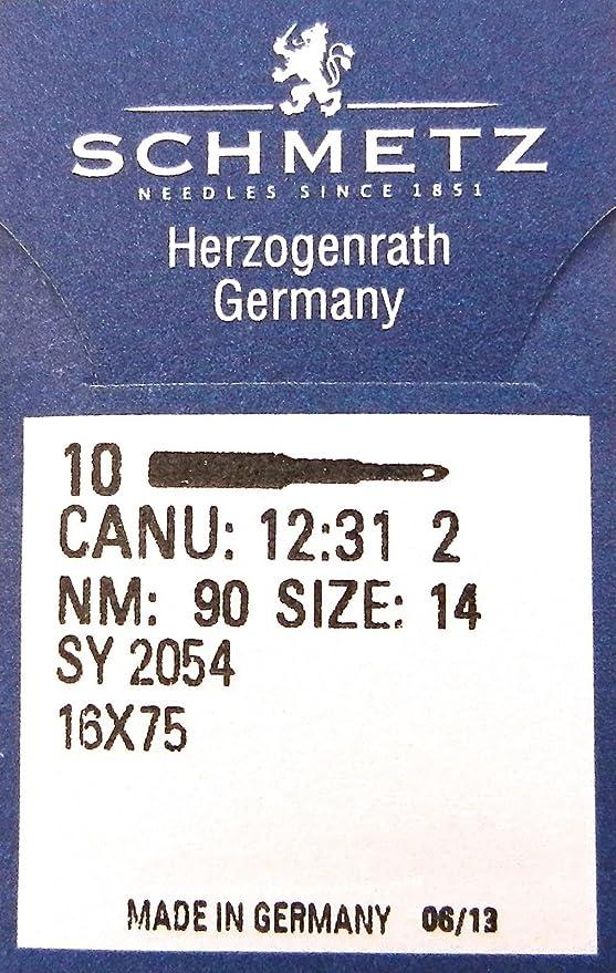 10 pcs SY 2054 SUK sobre Lock de estiramiento de Agujas para ...