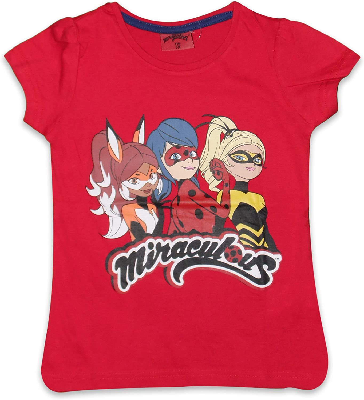 Miraculous Ladybug Baumwoll-T-Shirt kurz/ärmelig