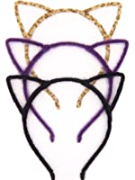 Bonnie Z. Leonardo Sweet Cute Girls Ladies Women Furry Cat Ears Headband