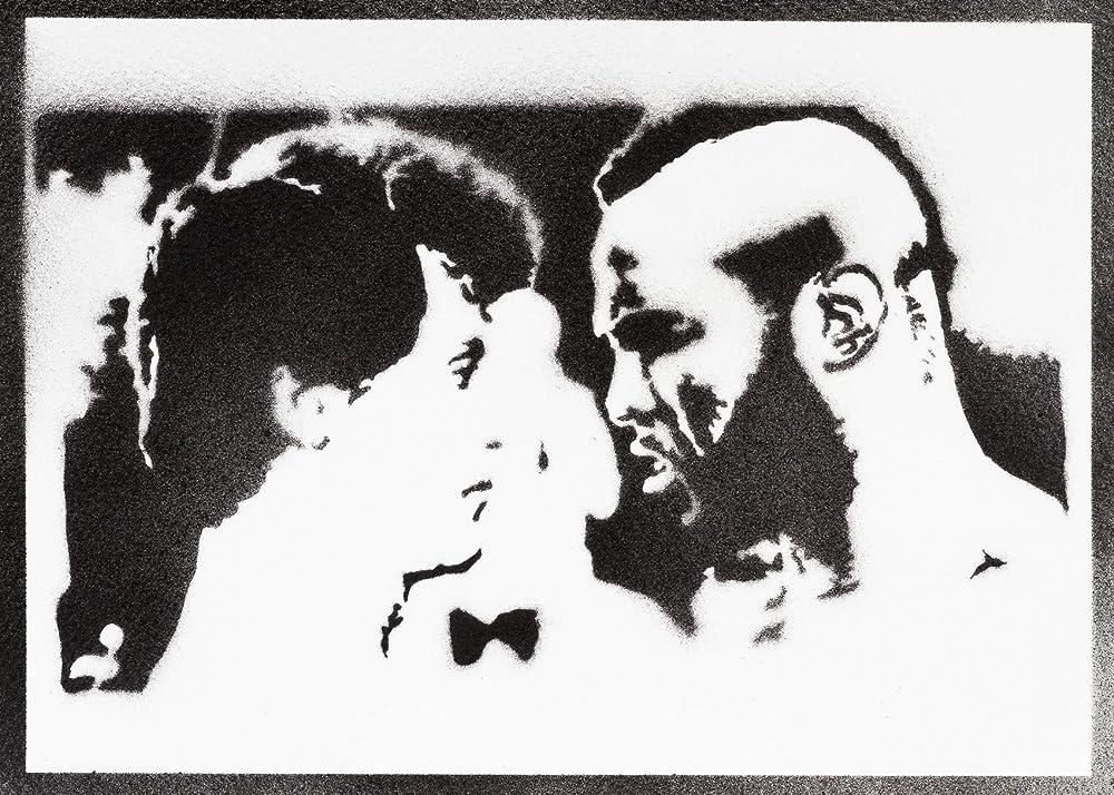 Póster Rocky Balboa Y Mister T Grafiti Hecho A Mano ...
