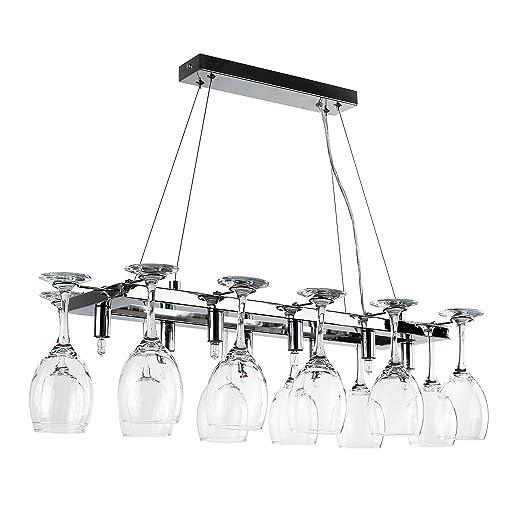 Superb Elegant Designer 8 Way Adjustable Suspension Over Table Polished Chrome Drop  Down Dining Room/Kitchen