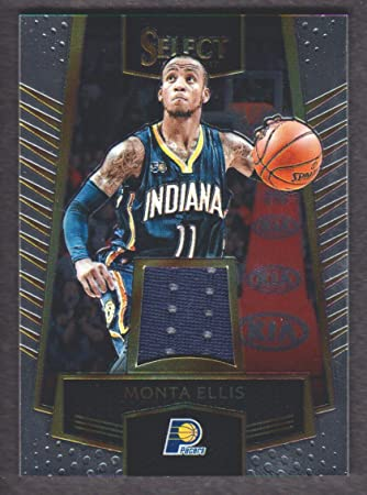 677df5b7ff9 2016-17 Select Swatches  29 Monta Ellis Jersey Indiana Pacers at ...