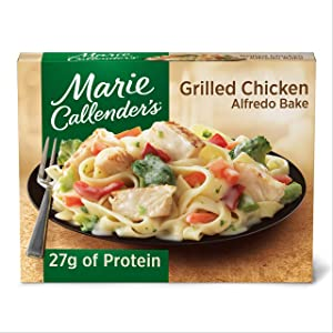 Marie Callender's Frozen Dinner, Grilled Chicken Alfredo Bake, 13 Ounce