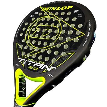 Dunlop Pala de Padel Titan 2.0 Yellow: Amazon.es: Deportes y aire libre