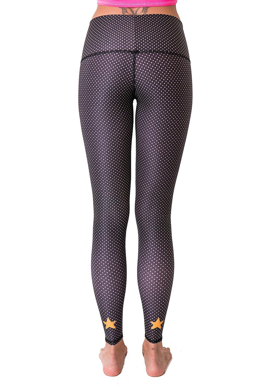 15f70af99cd1e4 Amazon.com: Teeki Women's Legging Or Hot Pant, Polka Dot Cowgirl (Black):  Clothing
