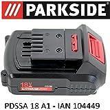 Parkside battery 18 v 1 5 ah pap 18 1 5 a1 for pssa 18 for Pistola sparapunti parkside