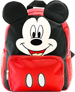 Mickey Mouse Backpack for Kids Toddlers ~ Deluxe 12