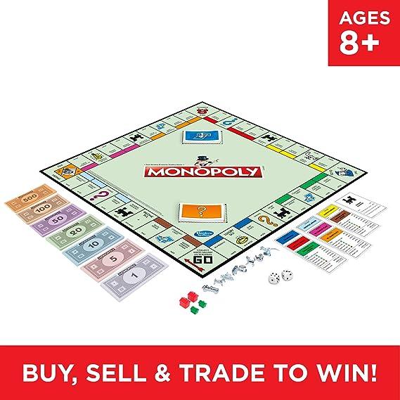 Hasbro Gaming - Monopoly Classic: Amazon.es: Juguetes y juegos