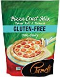 Pamela's Products Gluten Free Pizza Crust Mix, 4 Pound
