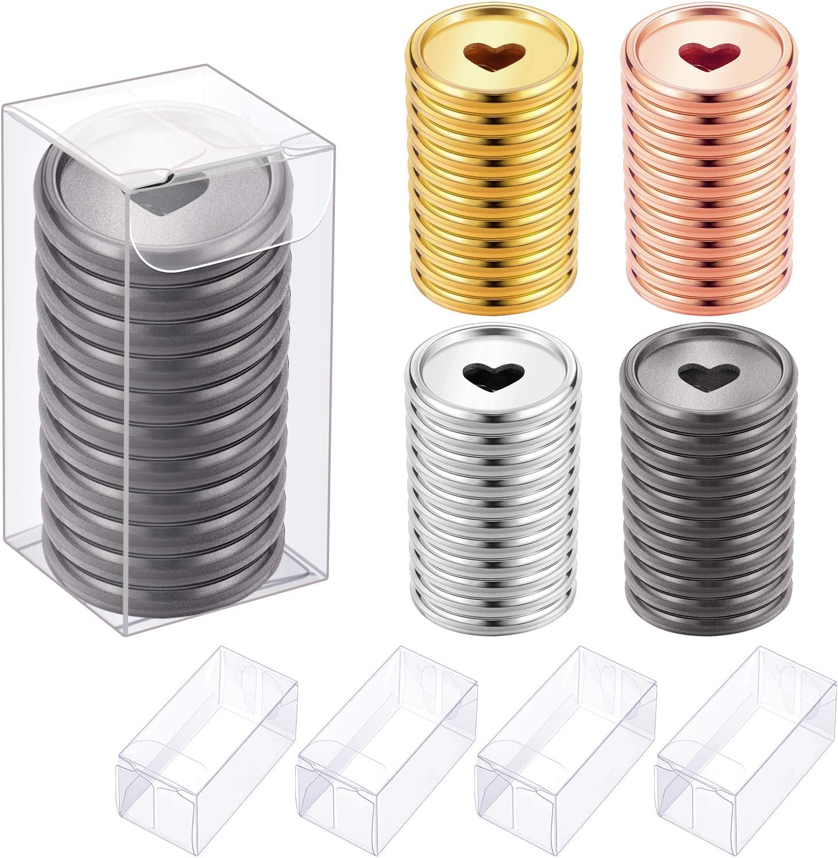 Discos para anillado de libretas (Pack de 44, 4 colores)