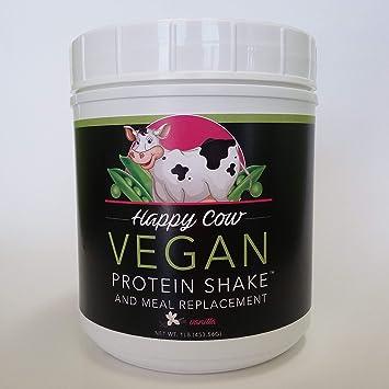 amazon com happy cow vegan protein shake chocolate grocery