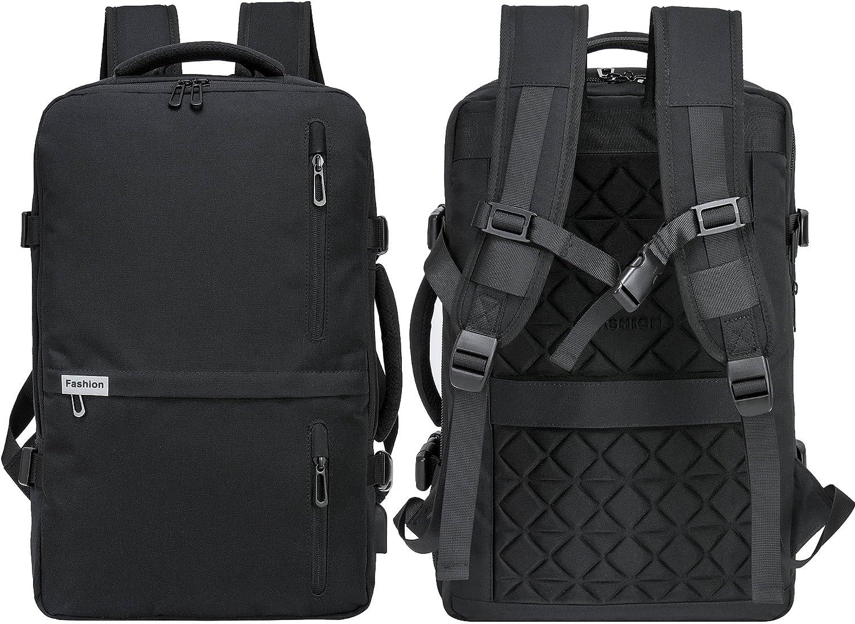 FAJRO Flight Weekender Carry on Backpack Flamingo Animal Love Pattern College School Book Bag Fits Laptop/&Notebook