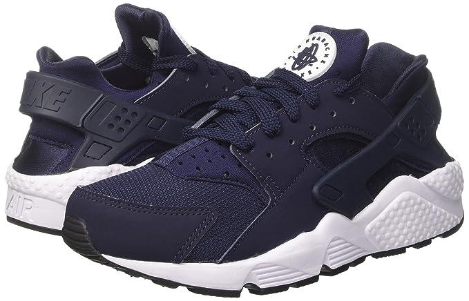 ca1576e25637a Amazon.com: Nike Men's Air Huarache Exclusive Flint Spin Fabric Trainer  Shoes (8.5): Sports & Outdoors
