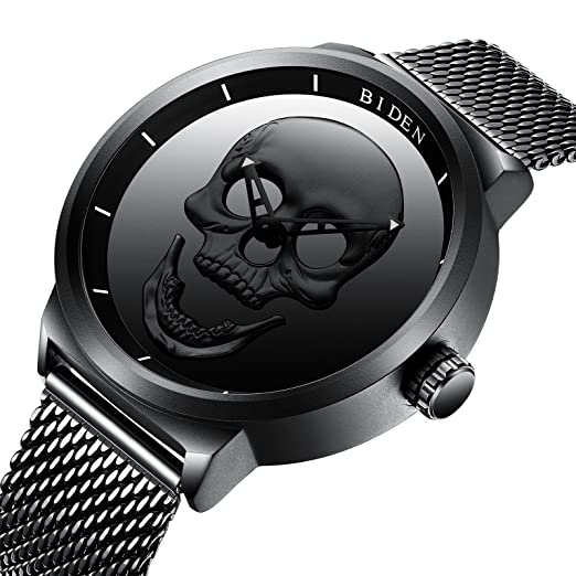 quartz wristwatch men mens watches loading fried s image is ebay alan watch face black itm