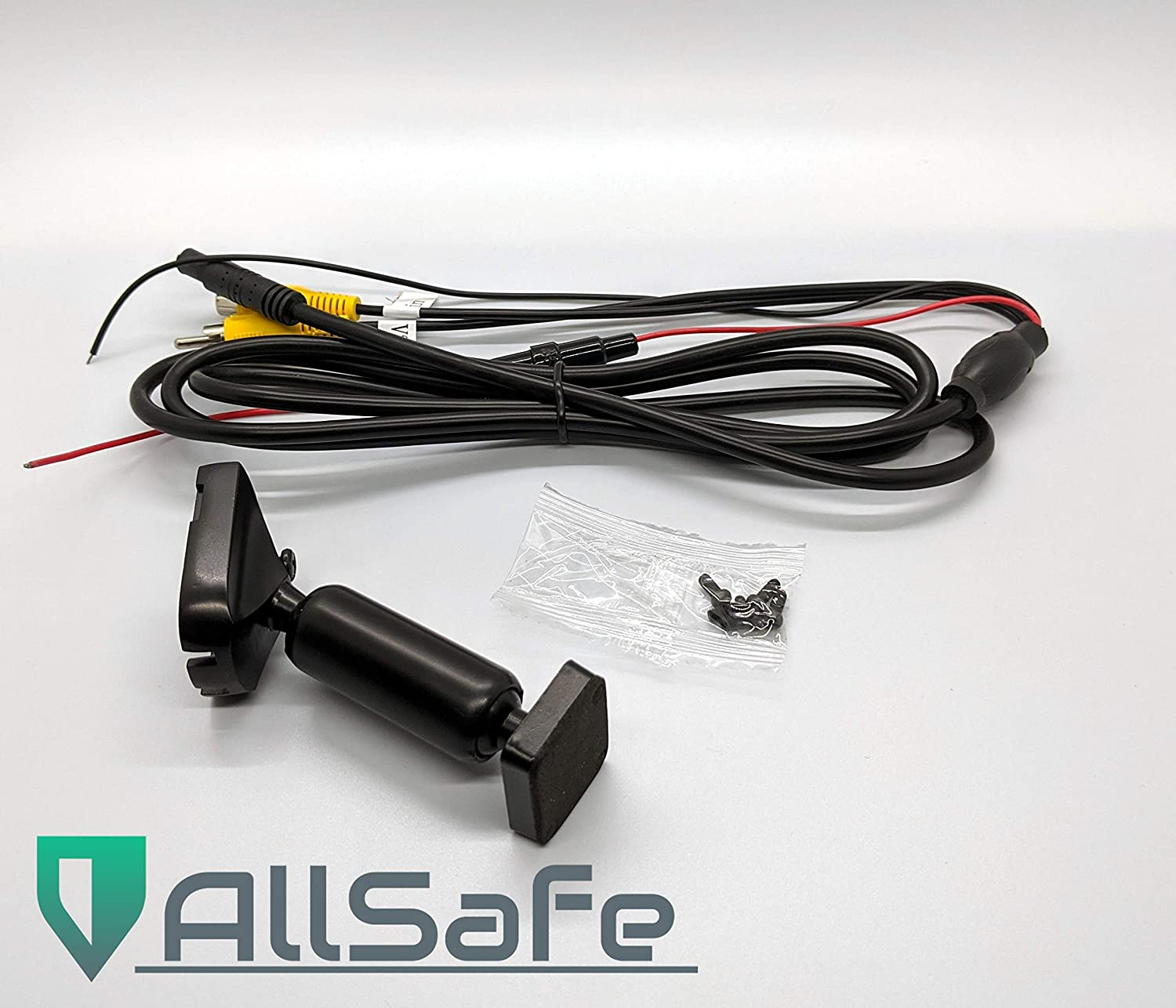 Universal Kit in-Mirror Video Monitor AllSafe Auto 4.3 LCD Rear View Mirror