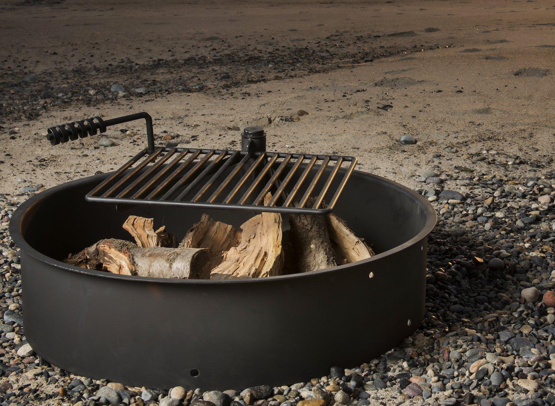 Amazon.com: Titan Outdoors - Anillo de acero para hoguera de ...
