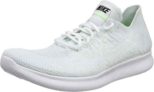 Nike Free Rn Flyknit 2017 Men S Competition Running Shoes White White White Pure Platinum Black 100 10 Uk 45 Eu Amazon Co Uk Shoes Bags