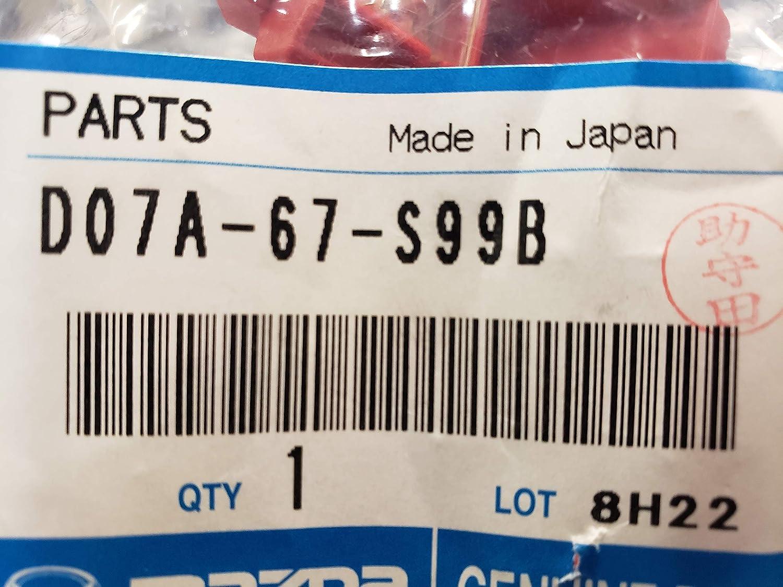 Genuine Mazda Fuse D07A-67-S99B
