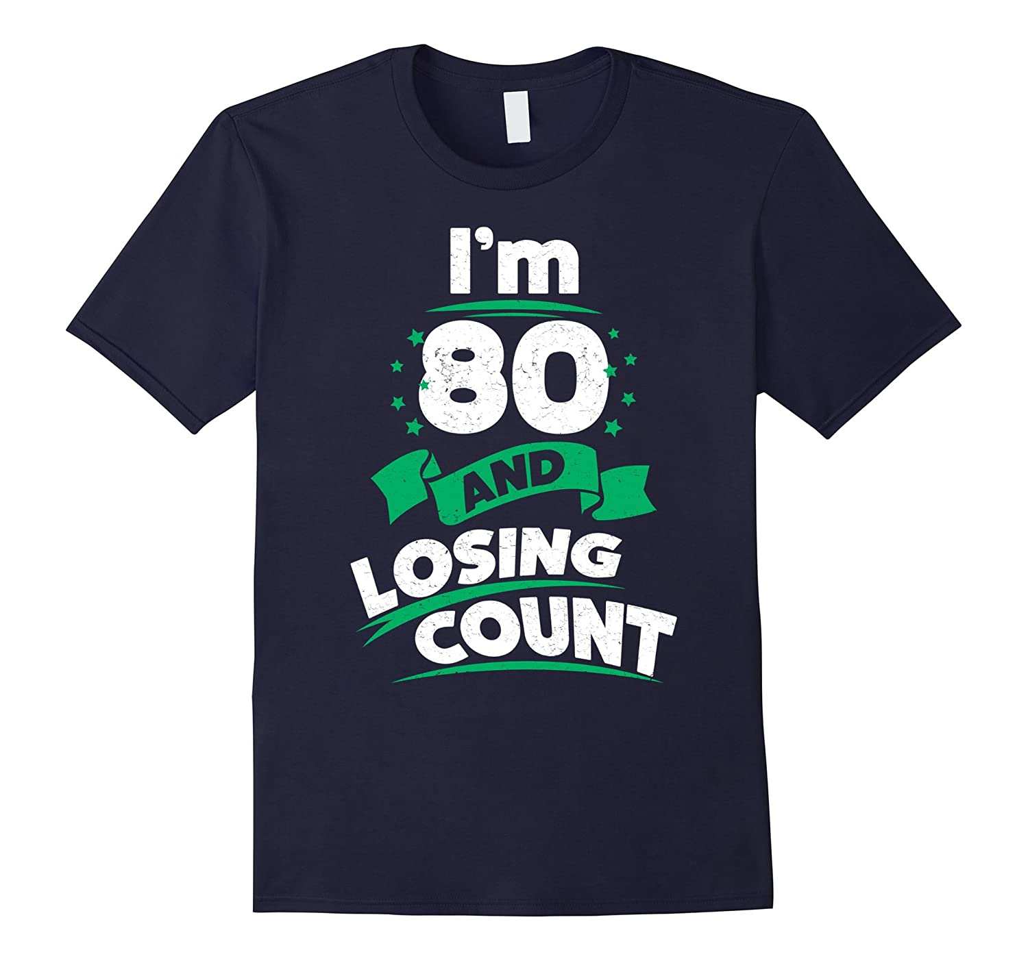 80th Birthday Gift Idea For Dad Funny 80 Years T Shirt PL