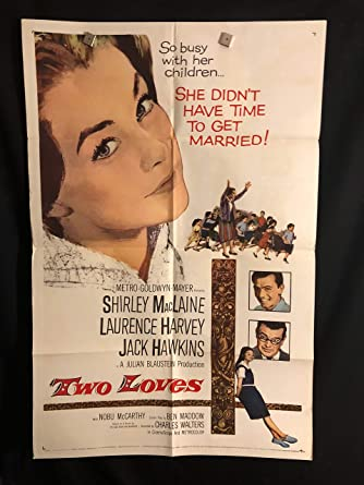 Two Loves 1961 Original Vintage One Sheet Movie Poster