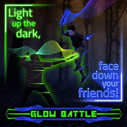 amazon com glow battle light up outdoor sword game for groups