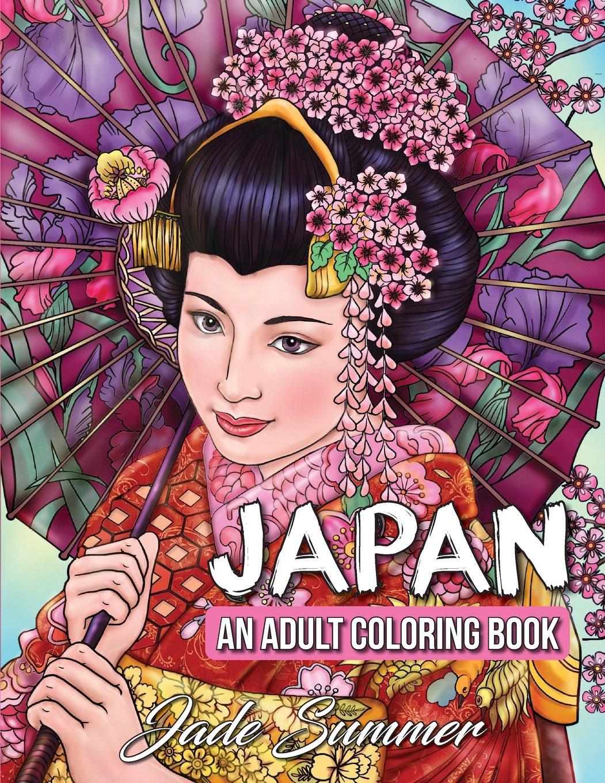 Japan Coloring Japanese Cultural Beautiful