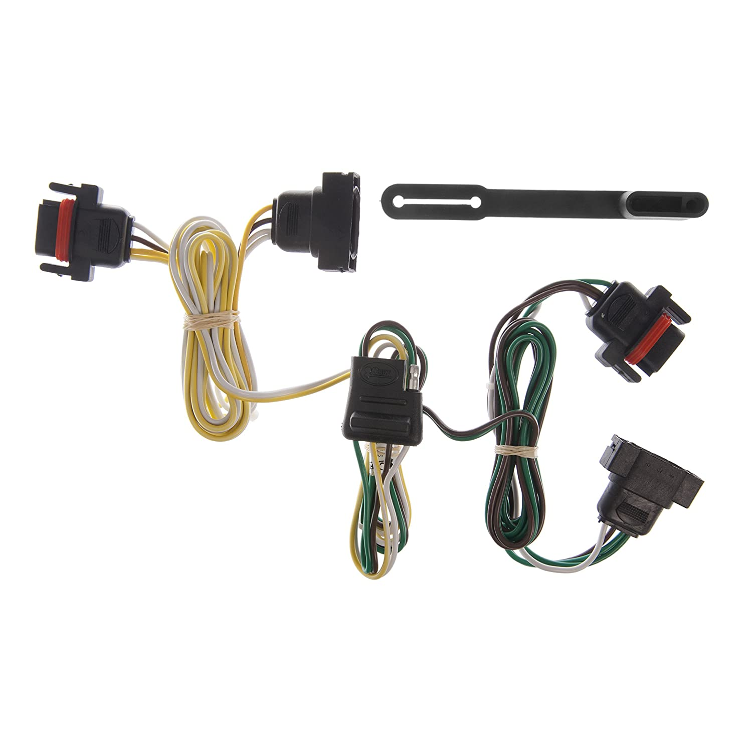 Amazon.com: CURT Trailer Hitch, Wiring & Ball Mount for Dodge Dakota, Mitsubishi  Raider: Automotive