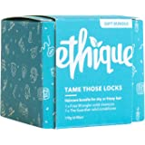 Ethique Eco-Friendly Shampoo & Conditioner Bar Bundle for Dry Hair - Sustainable & Natural Bars, 100% Soap Free, pH…