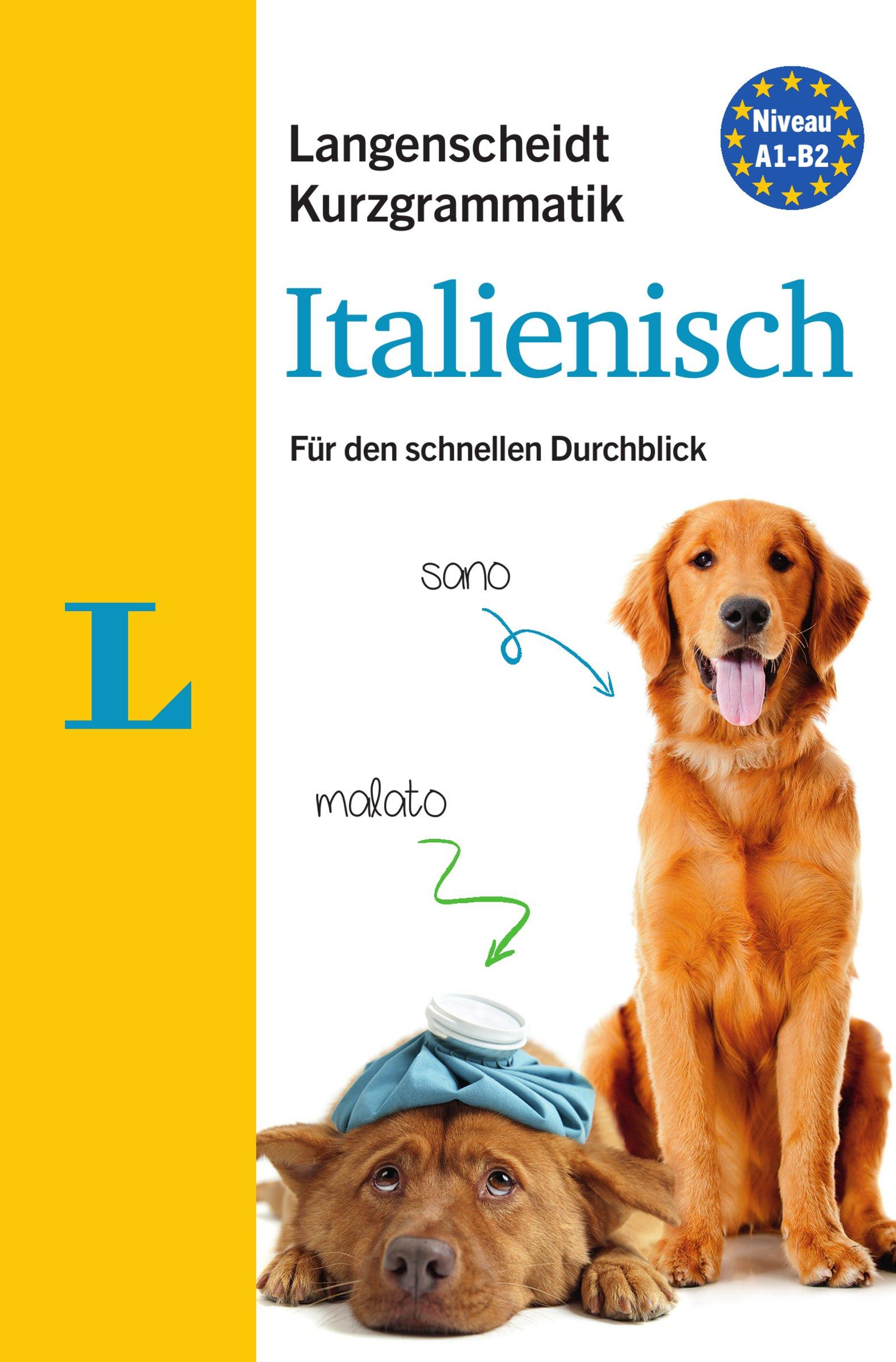 Langenscheidt Kurzgrammatik Italienisch - Buch mit Download: Die Grammatik für den schnellen Durchblick