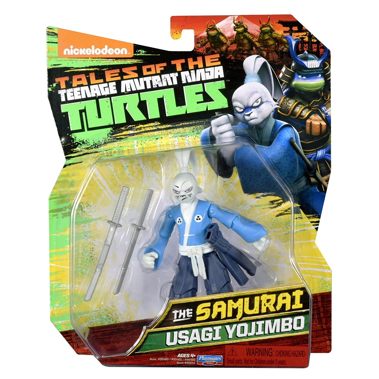 Amazon Com Nickelodeon Teenage Mutant Ninja Turtles Usagi Yojimbo